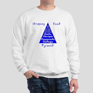 Uruguay Food Pyramid Sweatshirt
