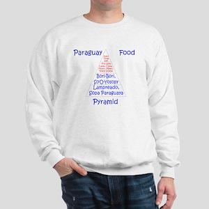 Paraguay Food Pyramid Sweatshirt