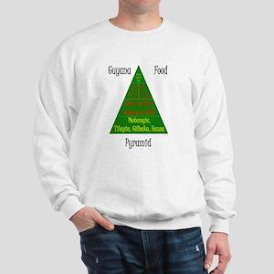 Guyana Food Pyramid Sweatshirt