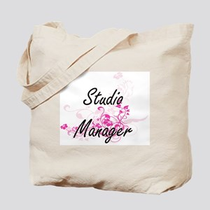 Studio Manager Artistic Job Design with F Tote Bag
