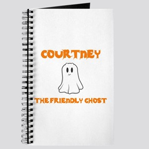 Courtney the Friendly Ghost Journal