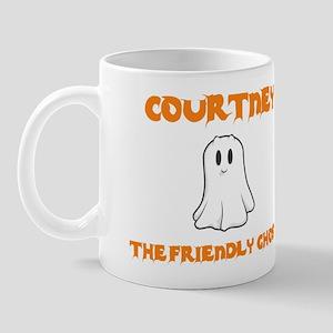 Courtney the Friendly Ghost Mug