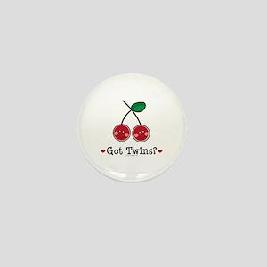 Got Twins Cherry Twin Mini Button