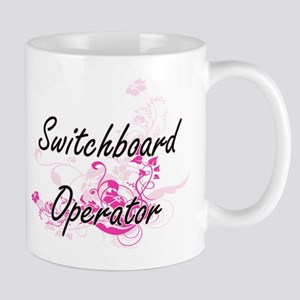 Switchboard Operator Artistic Job Design with Mugs