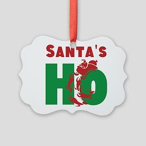 Santas Ho Ornament