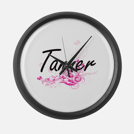 Tanner Artistic Job Design with F Large Wall Clock