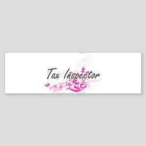 Tax Inspector Artistic Job Design w Bumper Sticker