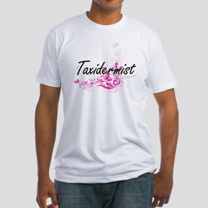 Taxidermist Artistic Job Design with Flowe T-Shirt