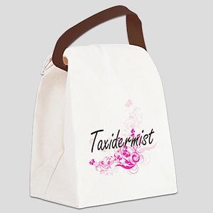 Taxidermist Artistic Job Design w Canvas Lunch Bag