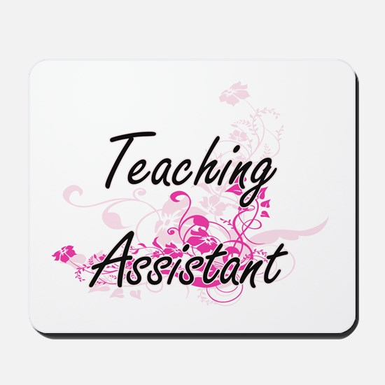 Teaching Assistant Artistic Job Design w Mousepad