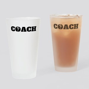 Figure Skating Coach Drinking Glass
