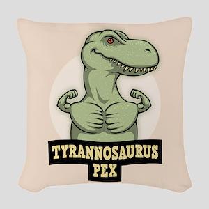 T-Pex Woven Throw Pillow