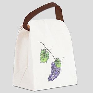 Grape_Vine_Combined_CAJ Canvas Lunch Bag
