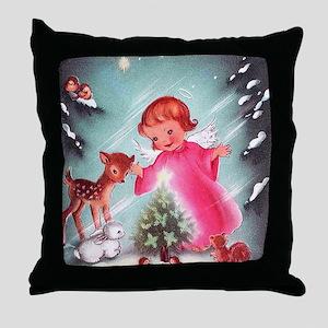 Vintage Christmas Image 4 Throw Pillow