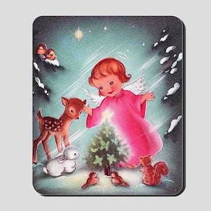 Vintage Christmas Image 4 Mousepad