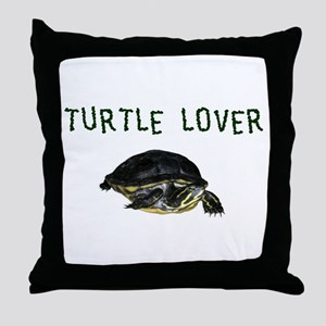 turtle_lover Throw Pillow