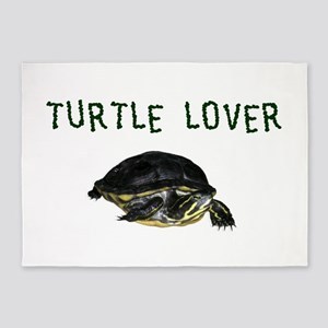 turtle_lover 5'x7'Area Rug