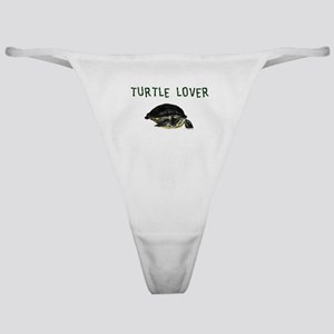 turtle_lover Classic Thong