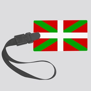 Basque Flag Large Luggage Tag