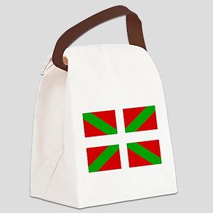 Basque Flag Canvas Lunch Bag