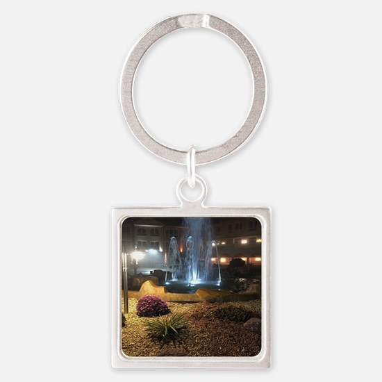 Cute Forsyth Square Keychain