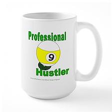 Pro 9 Ball Pool Hustler Large Mug