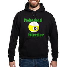 Pro 9 Ball Pool Hustler Hoodie (dark)