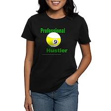 Pro 9 Ball Pool Hustler Women's Dark T-Shirt