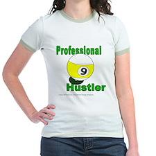 Pro 9 Ball Pool Hustler Jr. Ringer T-Shirt