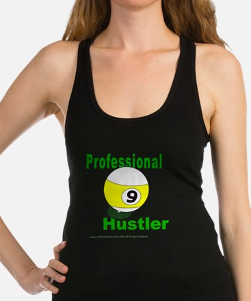 Pro 9 Ball Pool Hustler Racerback Tank Top