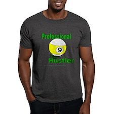 Pro 9 Ball Pool Hustler Dark T-Shirt