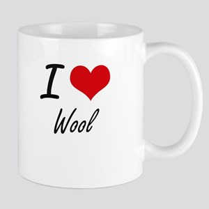 I love Wool Mugs
