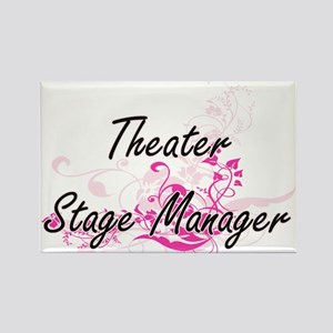 Theater Stage Manager Artistic Job Design Magnets