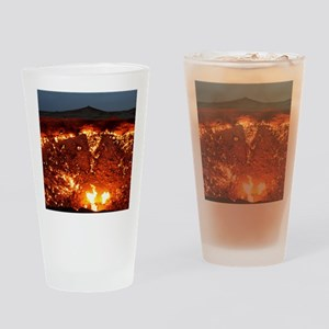 DOOR TO HELL Drinking Glass