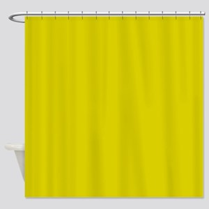 Chartreuse Shower Curtain