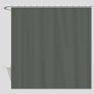 Charcoal briquette Shower Curtain