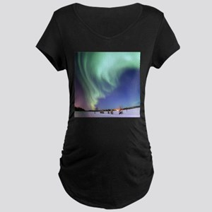 AURORA BOREALIS Maternity T-Shirt