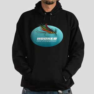 Hooked On Fishing (Fly) Hoodie