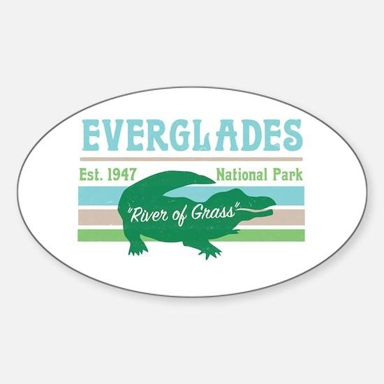 Everglades National Park Alligator Decal Decal
