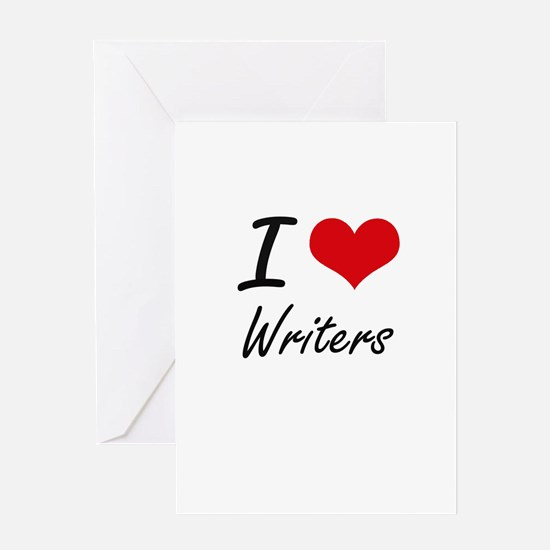 I love Writers Greeting Cards