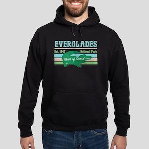 Everglades National Park Alligator D Hoodie (dark)
