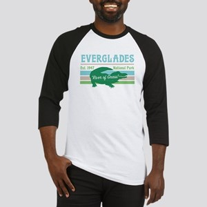 Everglades National Park Alligator Baseball Jersey