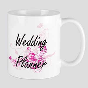 Wedding Planner Artistic Job Design with Flow Mugs