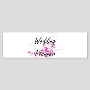 Wedding Planner Artistic Job Design Bumper Sticker
