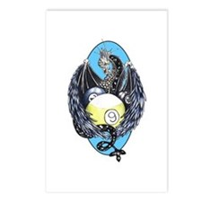 Dragon Nest Billiard Ball Postcards (Package of 8)