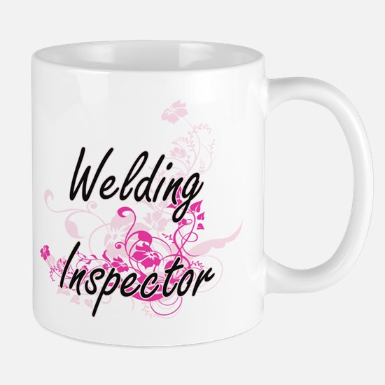 Welding Inspector Artistic Job Design with Fl Mugs