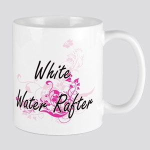 White Water Rafter Artistic Job Design with F Mugs