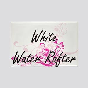 White Water Rafter Artistic Job Design wit Magnets