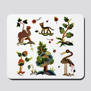 Castlemaine Jacobean Embroidery Mousepad