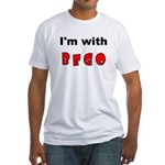 I'm with... Fitted T-Shirt